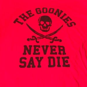 "NWOT! ""Goonies never say die"" men's shirt 3x"